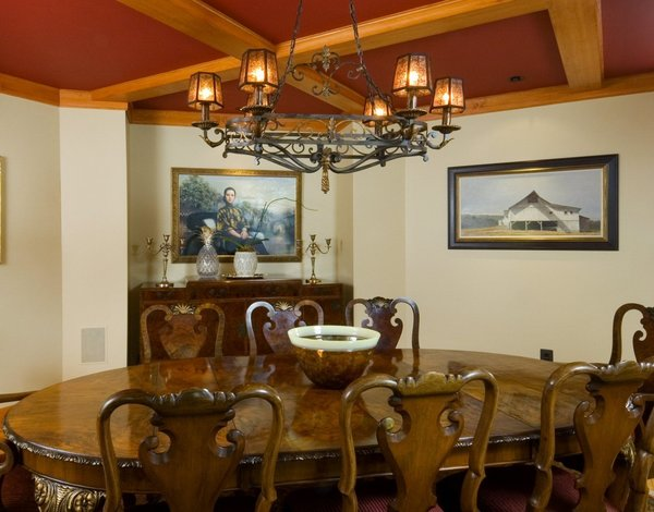 Formal Dining Room Photo 12 of Yellow Brook Farm House modern home