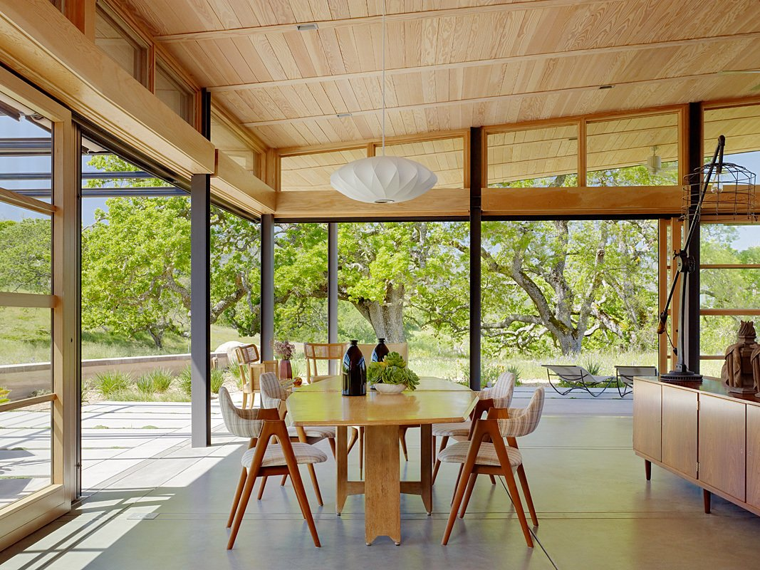 Caterpillar House Tagged: Dining Room, Chair, Table, and Pendant Lighting.  Caterpillar House by Feldman Architecture