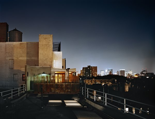 Looking south toward the skyline of Lower Manhattan. Photo 8 of East Village Penthouse & Roof Garden modern home
