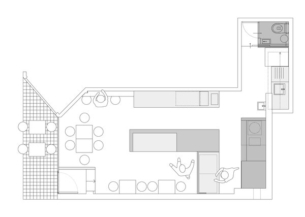Photo 11 of Storefront for Cake and Architecture modern home
