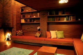 Who wouldn't love a night at Frank Lloyd Wright's Schwartz House?