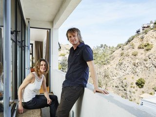 A Modern Los Angeles Airbnb Inspired by Hosting - Photo 1 of 7 - Judith and Marc are Swiss music composers who have lived in Los Angeles for decades.