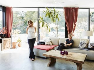 A Modern Los Angeles Airbnb Inspired by Hosting - Photo 2 of 7 - Hosting through Airbnb not only helped finance the couple's dream home, it inspires their design.