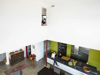 A Modern Los Angeles Airbnb Inspired by Hosting - Photo 3 of 7 - At the request of the residents, the architect Anna Hinton structured the home around a spacious, open-plan kitchen for entertaining guests.