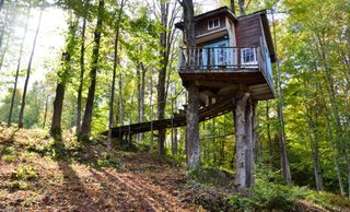 Airbnb Comes Home Preview - Photo 2 of 7 - Treehouse, Vermont.