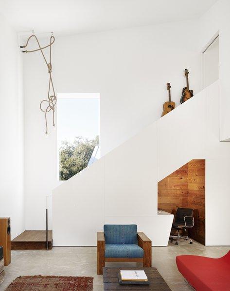 Living room Photo  of Hillside Residence modern home
