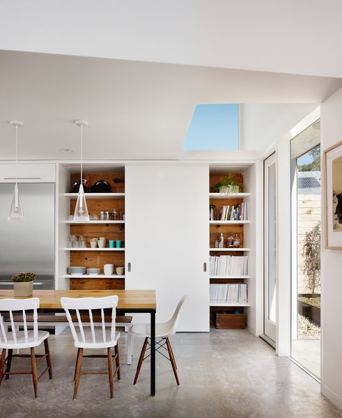 Dining Room Photo 2 of Hillside Residence modern home