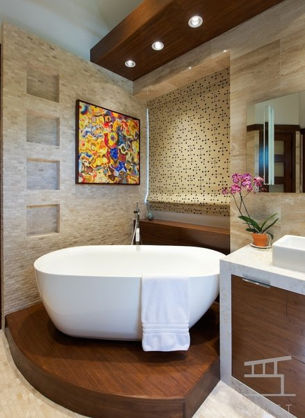 Photo 18 of Winterwood Master Bath modern home