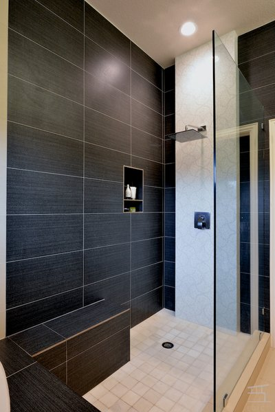 Custom Shower Photo 6 of Khanna House modern home