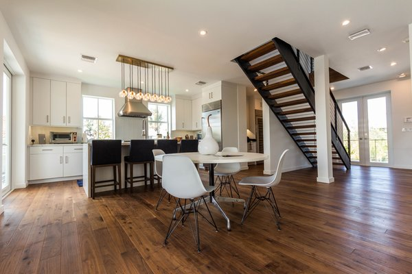 NEWPORT black walnut flooring Photo  of Key West Residence modern home