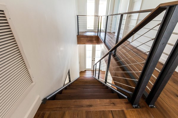 NEWPORT black walnut stairs Photo 5 of Key West Residence modern home