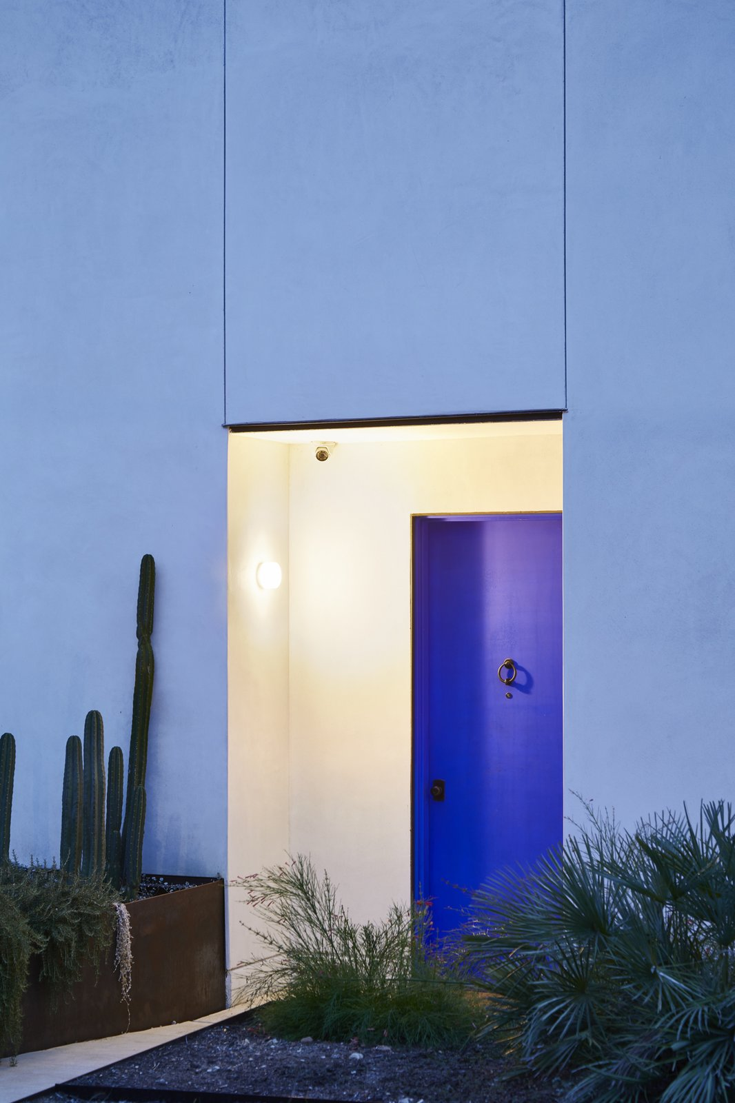 Modern home with Doors, Exterior, Swing Door Type, and Metal. Photo 16 of Casa Marrakech