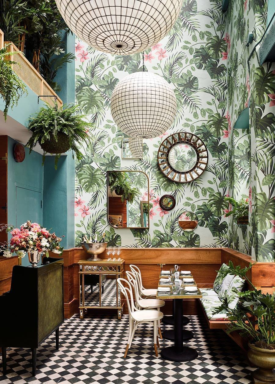 Leo's Oyster Bar in San Francisco designed by Ken Fulk Inc.  Lush Life by Heather Corcoran from Restaurants