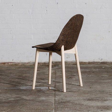 Terroir Chair by Jonas Edvard and Nikolaj Steenfatt:   Seaweed and paper Material Spotlight: Algae by Melissa Abel