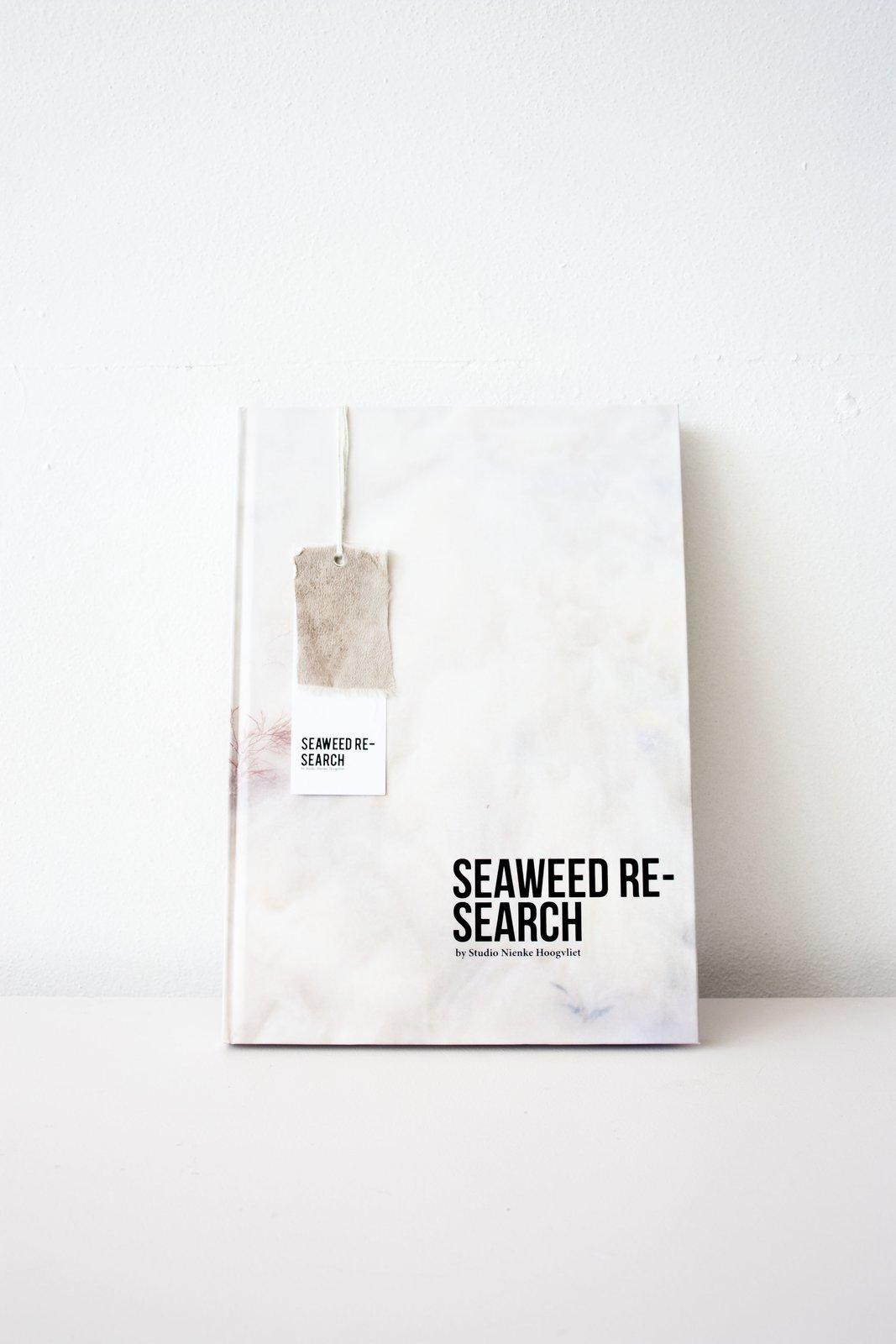 Studio Niece Hoogvliet -Seaweed Research Book    Material Spotlight: Algae by Melissa Abel