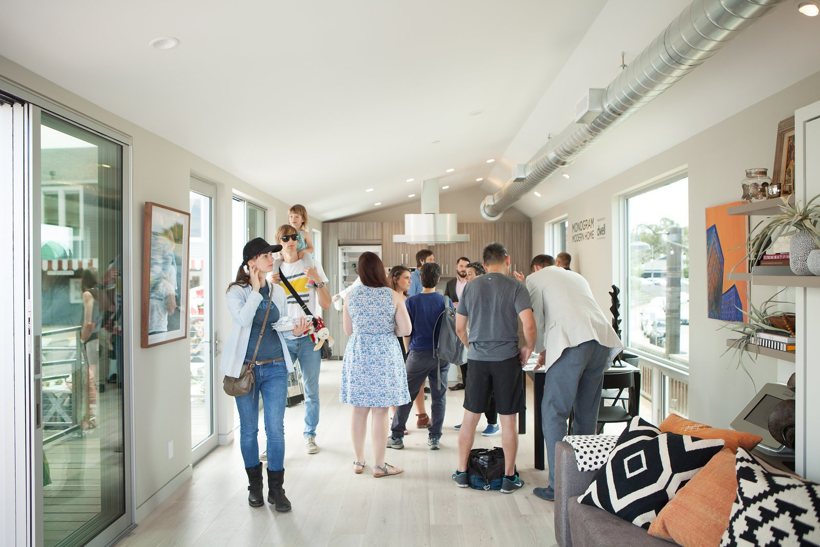 The open house returned for an encore showing on Sunday, June 12th at the Marin Country Mart. Monogram Modern Home Tour Takes On the West Coast - Photo 8 of 9