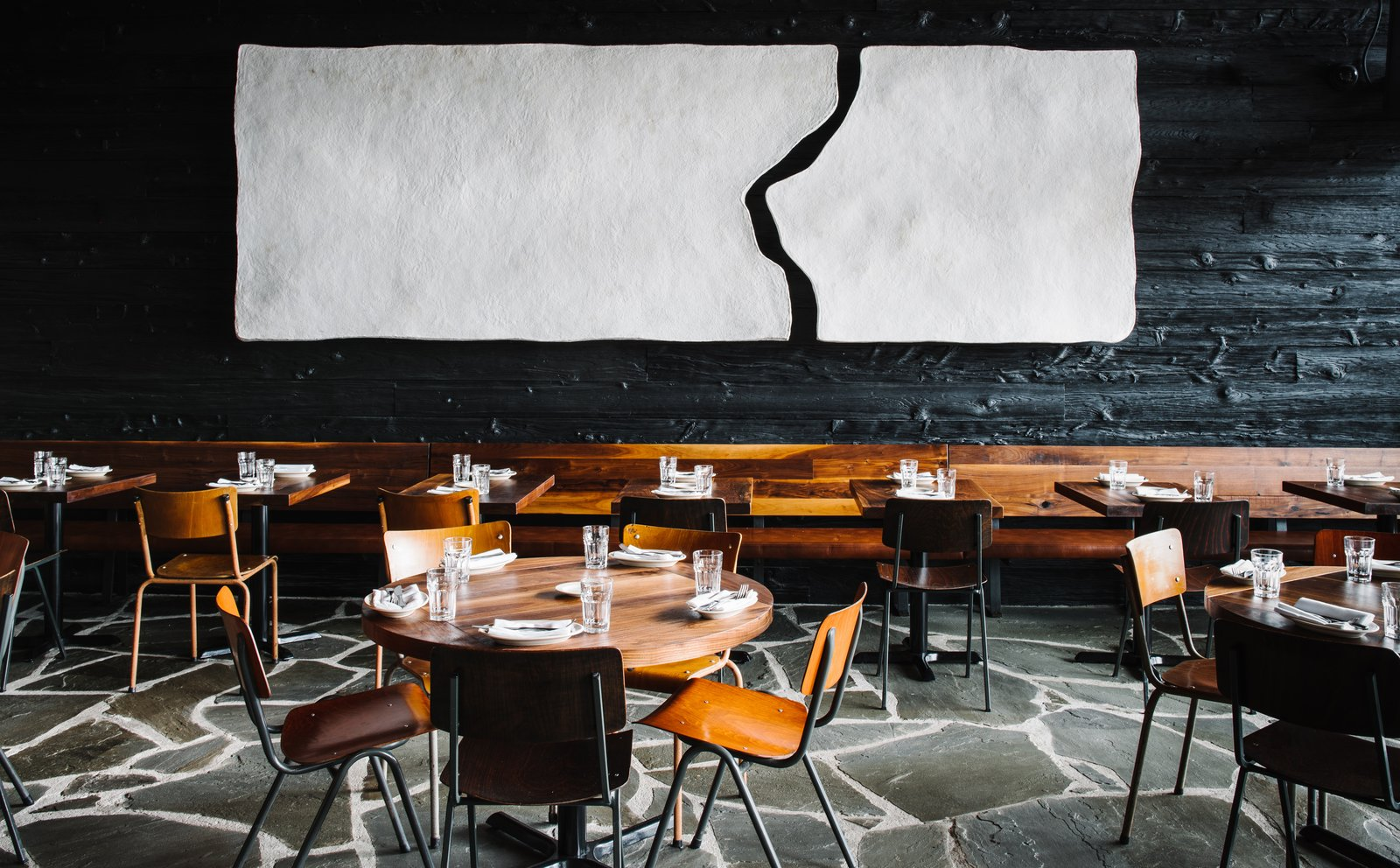 A spanish restaurant with an industrial infusion dwell