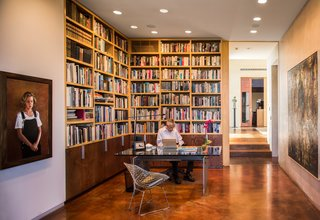 """The Intersection of Art and Architecture Offered for $3.75M - Photo 7 of 8 - Peter Stremmel recalls watching Mack sketching ideas for the house: """"We were fascinated by what he was doing."""""""