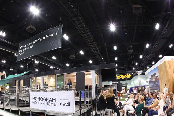 Monogram Modern Home Tour Joins the Los Angeles Design Scene - Photo 1 of 5 - The home joined over 300 exhibiting brands and 2,000 modern furnishings and products at Dwell on Design. The prefab's builder, Method Homes, also staffed an adjacent booth on the show floor.