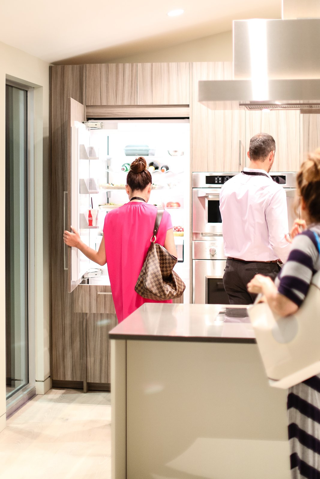 "The open house provided visitors the opportunity to interact with Monogram appliances in a natural setting. ""The definition of technology isn't just electronics, it's the functionality that can improve people's lives,"" noted Blecker during the panel, summing up how an intuitive kitchen serves the consumer.  Photo 6 of 6 in Monogram Modern Home Tour Joins the Los Angeles Design Scene"