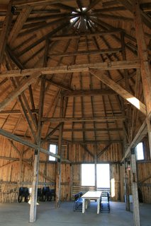 Agrarian Pastime: Book a Village Stay in Nova Scotia - Photo 8 of 13 - At 2,000 square feet, the barn is an ideal setting for weddings, retreats, parties, and performances.