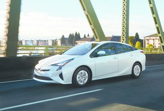 """The Joy Factor: A New Approach to Hybrid Car Design - Photo 2 of 6 - Kodama's favorite aspect of Prius is the side view. """"You can recognize the evolution from previous Prius models, and it's also easy to distinguish the aim and differentiation between each hybrid or plugged-in hybrid vehicle model,"""" he says. Toyota's 2016 Prius has a lower hood and character lines that sweep along the sides, creating an sleek, athletic shape."""