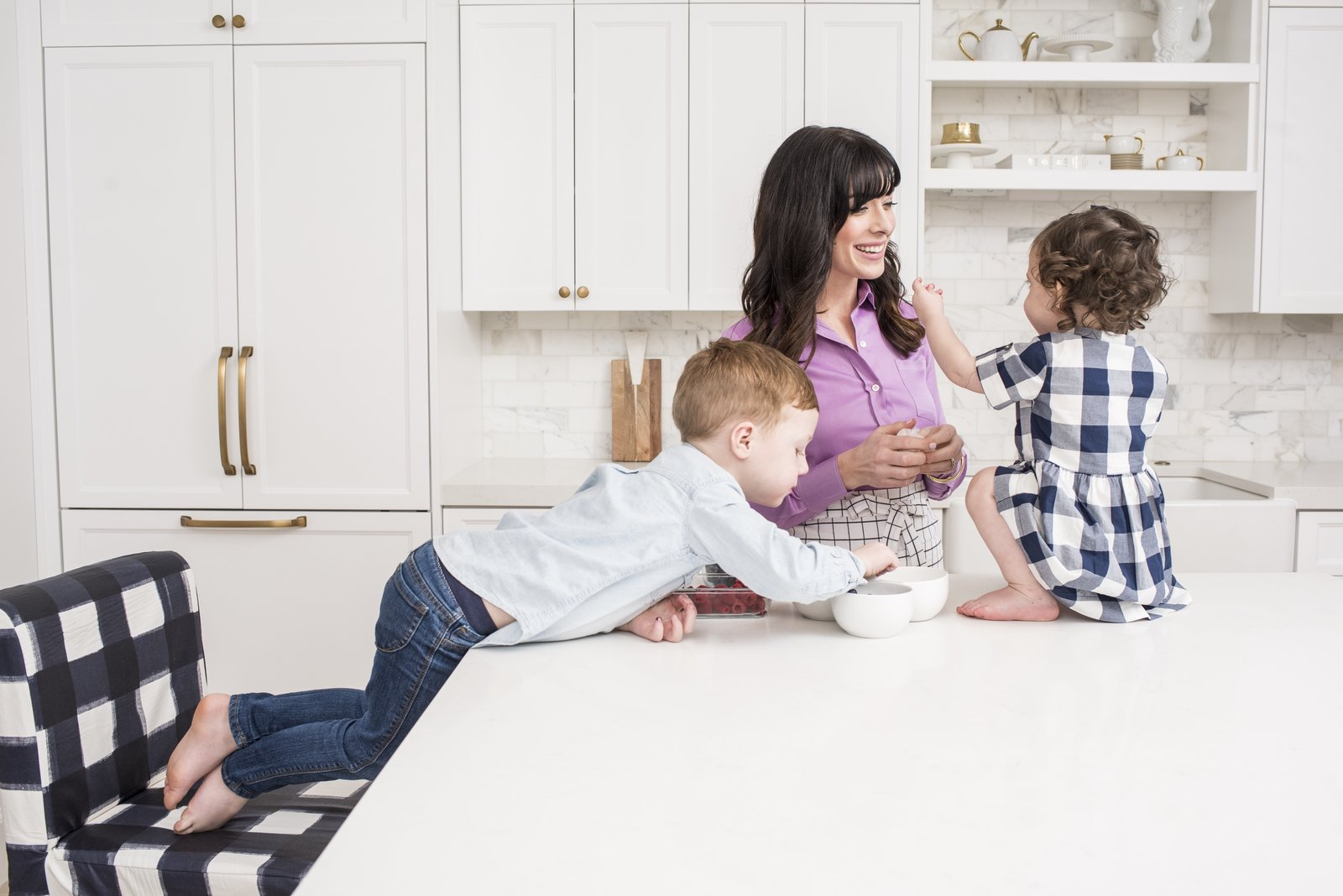 Photo 2 of 8 in An Interior Designer's Streamlined Kitchen