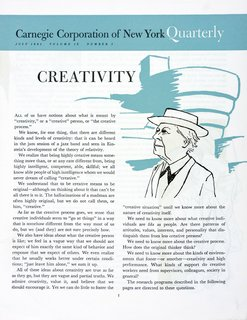 This Book Unearths a Midcentury Personality Study on Architectural Giants - Photo 3 of 13 - The initial findings of the study graced the front page of Carnegie Corporation of New York Quarterly in July 1961. The Carnegie Corporation was a source of funding for IPAR, which asked for $150,000 over a five-year period (which would be about $1,400,000 today).