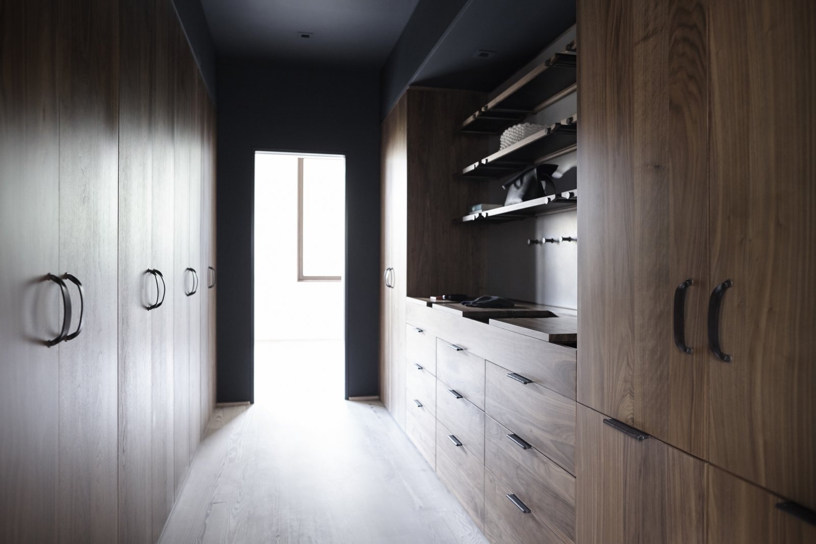 Henrybuilt tailors the Wardrobe System to separate closet functions in a way that meets the needs of the client and the parameters of the architecture. The Whole House System That Unifies Every Room - Photo 9 of 9