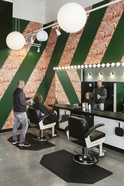 Birds Barbershop offers its employees competitive pay, health insurance, a retirement plan, and ongoing education. Employees get free haircuts and are promoted from within.