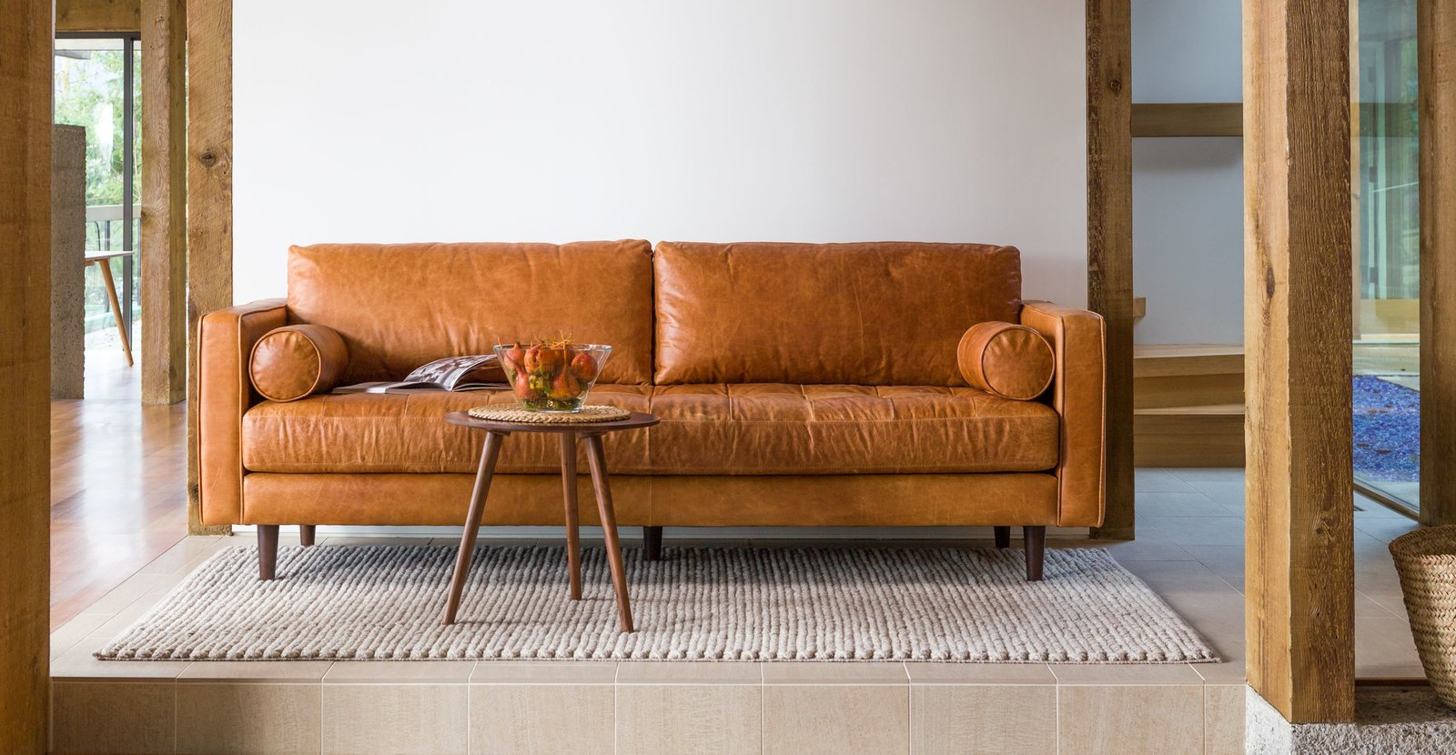 Merry Modern Article Sven Charme Tan 72 Quot Sofa By Dwell