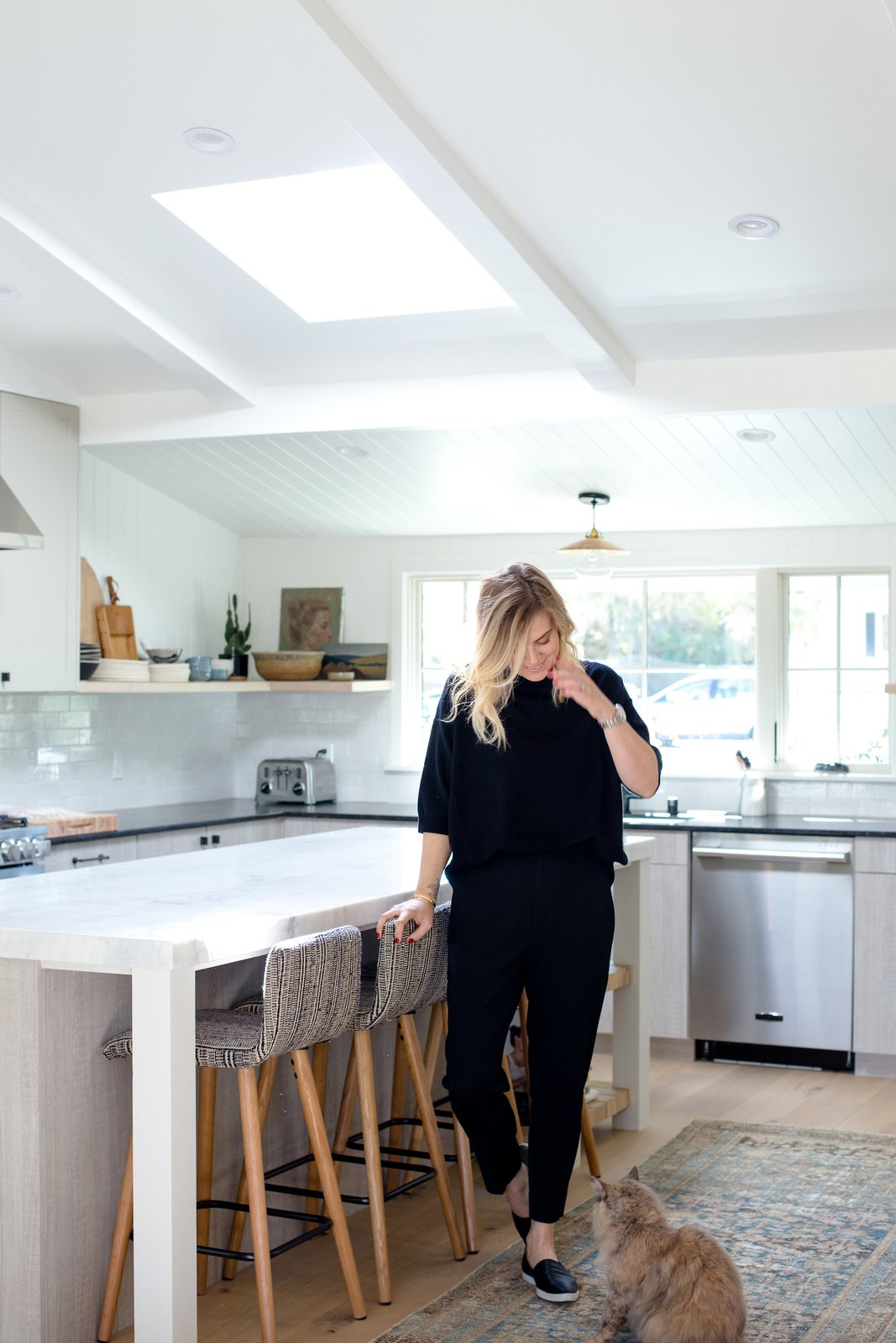 "Photo 9 of 9 in The Big Reveal: An Interior Designer Unveils Her ""No Ordinary Kitchen"" Makeover"