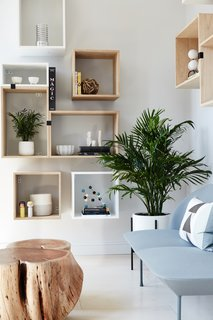 Space to Work, Room to Play - Photo 6 of 11 - Muuto Stacked Shelving creates a flexible and playful display area.