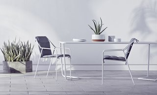 "The Dwell x Target Lookbook Reveals a Sleek New Collection for the Modern Home - Photo 6 of 9 - Citing the ""execution and scope"" of the outdoor seating collection, Dine names these pieces among his favorites. ""I think that the guest will find them amazingly comfortable."""