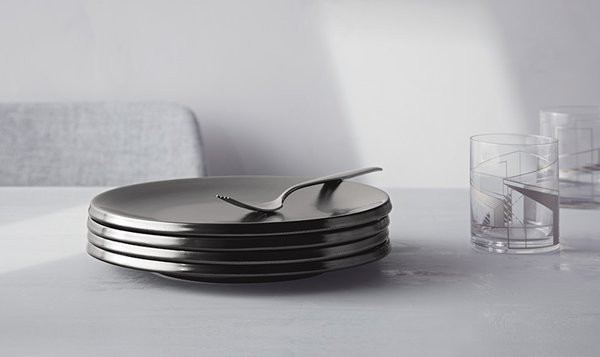 Modern by Dwell Magazine Stoneware Glazed Plates