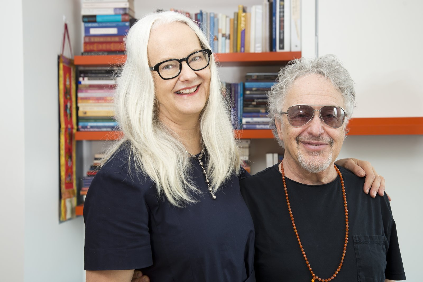 Annette is an agent for cartoon writers and creators, directors, and producers. Alan is a television and film producer, writer, and band manager, best known for the 1970s sitcom Welcome Back, Kotter. Thanks to transforming furniture from Resource Furniture and their flexible schedules, both enjoy home offices in their highly efficient apartment.  Photo 2 of 6 in Two Film Industry Veterans Flip the Script With a Suburb-to-City Move