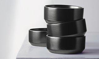 Modern by Dwell Magazine Stoneware Glazed Bowls