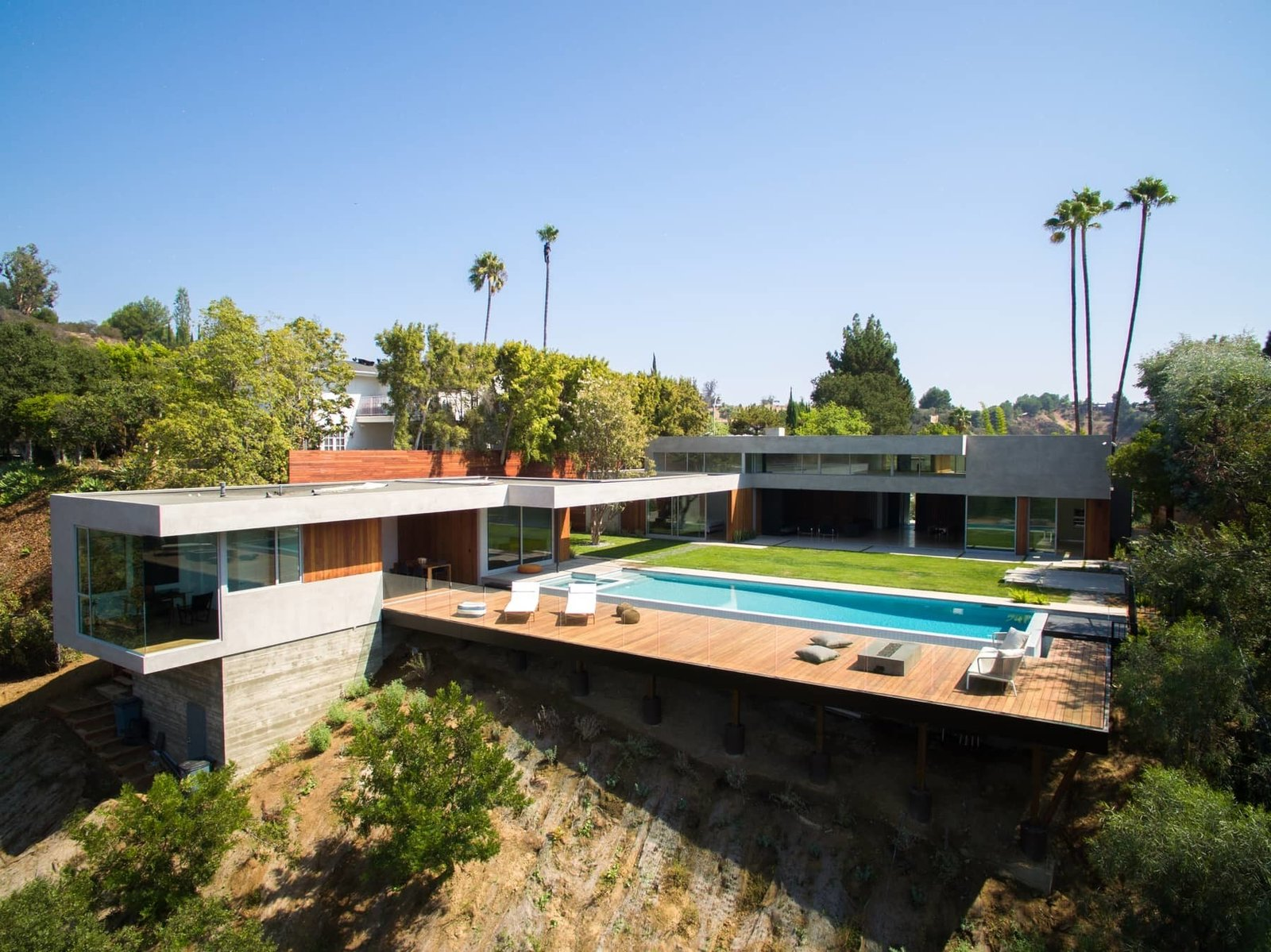 After Jason Lev of Ground Up Los Angeles made a name for himself with Tenants of the Trees, a trendy bar and private venue in the Silver Lake neighborhood, he brought his vision to the Phineas Residence, located in a cul-de-sac in Beverly Hills.  Photo 2 of 10 in A Celeb-Worthy Home in Beverly Hills Asks $7.4M