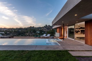 A Celeb-Worthy Home in Beverly Hills Asks $6.75M - Photo 9 of 9 - Ann Sacks pool tile contributes to the many amenities on site.