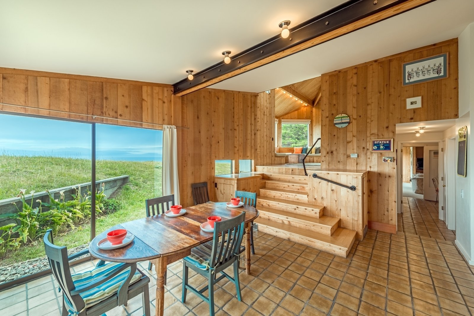 Barring the bathrooms, every room in the house looks out at the ocean.  Photo 3 of 12 in Settle in the Celebrated Sea Ranch For Under $2.9M