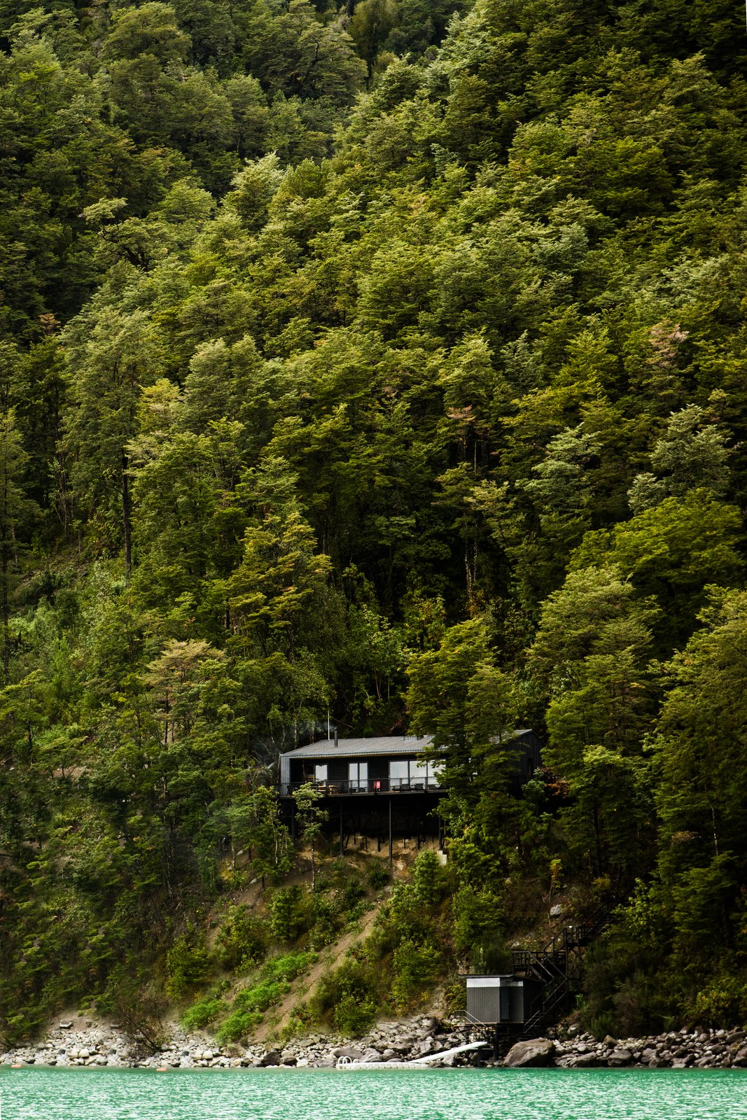 Photo 2 of 9 in Just Getting to This Remote Patagonian Retreat Is an Adventure