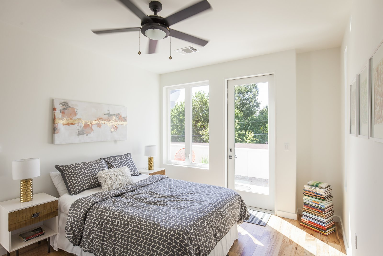 Both the master bedroom and second bedroom enjoy access to a private deck, perfect for reading, enjoying a cup of coffee, or simply lounging in the sun.