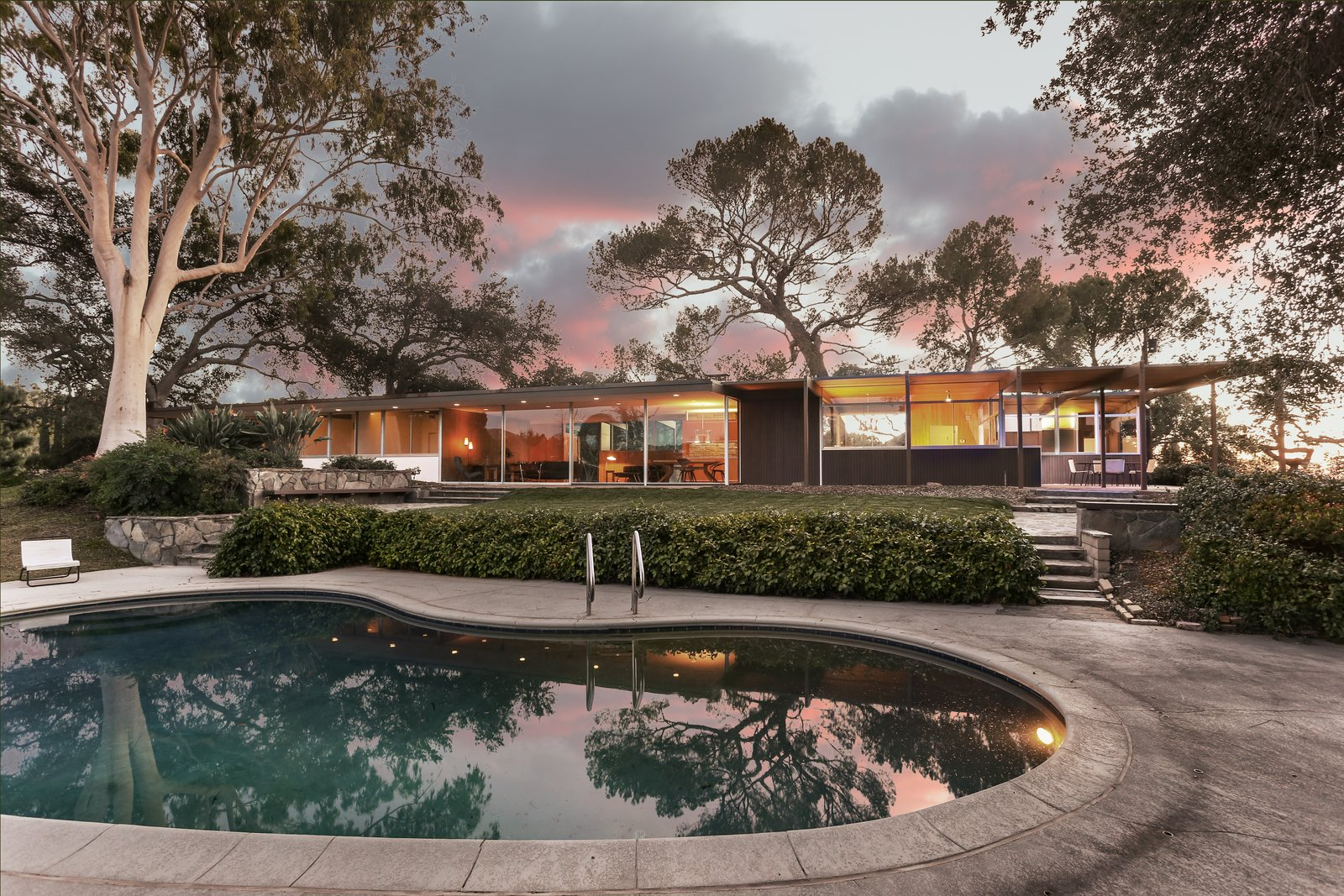 Photo 1 of 9 in Nearly Slated For Destruction, a Restored Neutra in West Covina Asks $1.8M