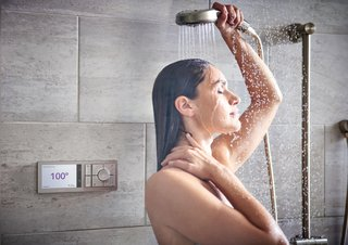The Wi-Fi connected system allows Moen to push feature updates that will continually better your shower experience.