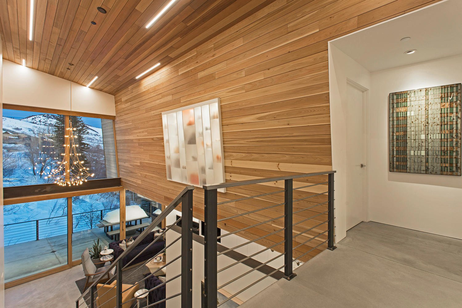 Photo 6 of 10 in A Plunging Roof Carves Out Space in This Park City Home Offered at $2.4M