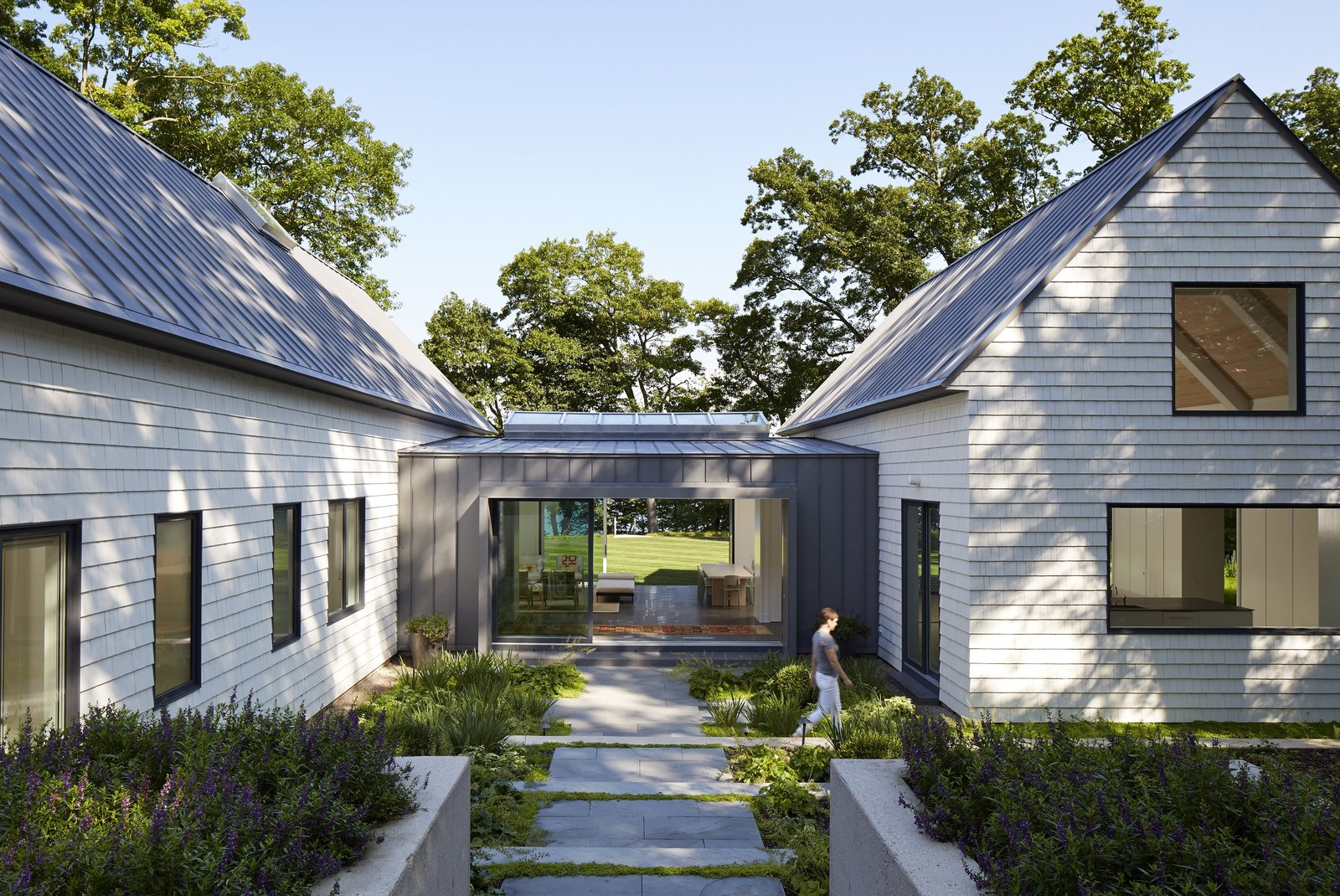 Photo 1 of 7 in Cabins and Connectors Form a Family's Lake Michigan Retreat