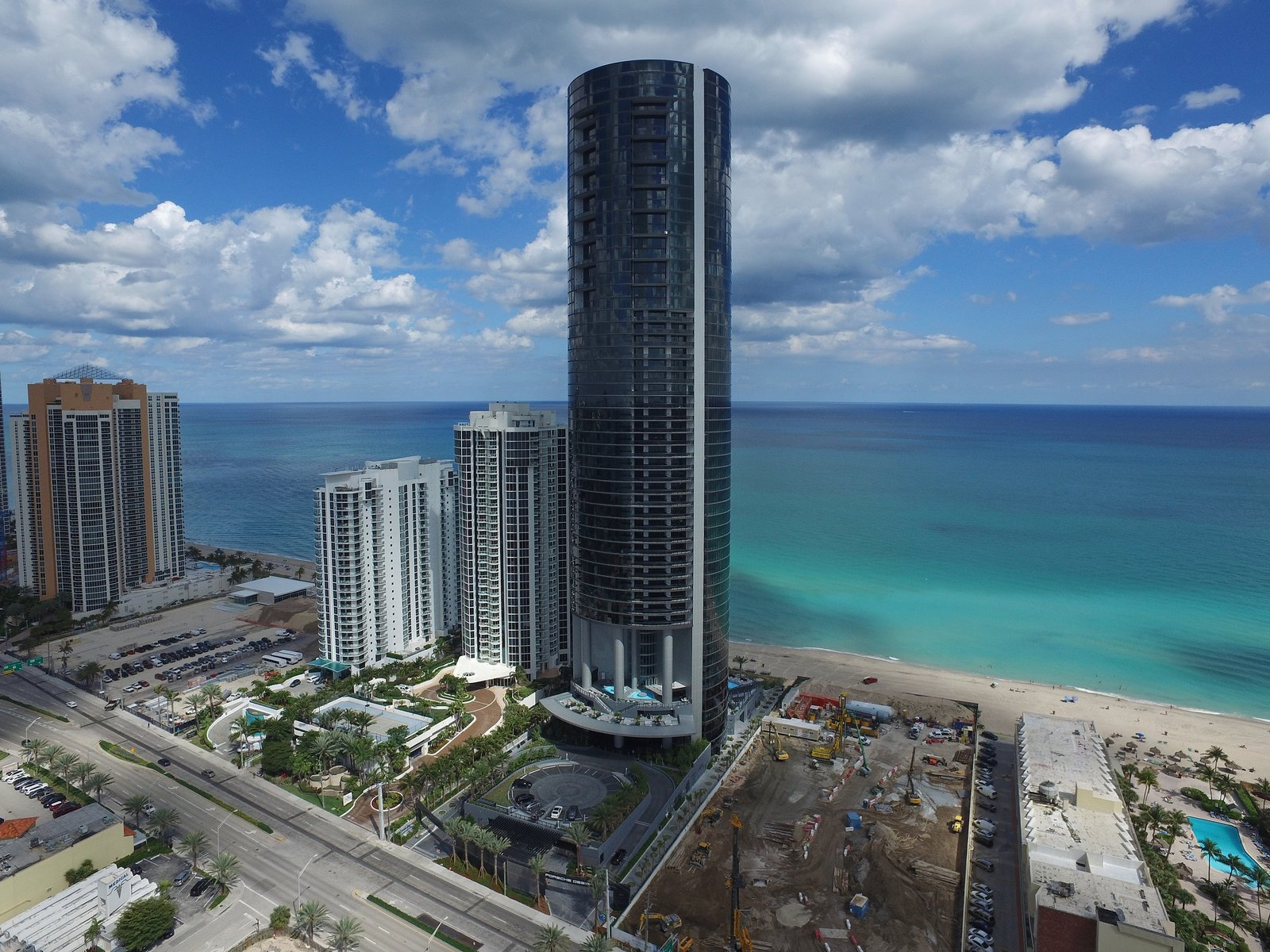 Photo 1 of 11 in Porsche Design's Lavish Residential Tower in Miami Lifts Residents and Cars Sky High
