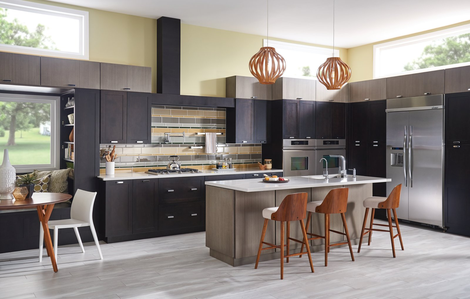 Photo 7 of 8 in How to Add a Modern Twist to Any Kitchen Style