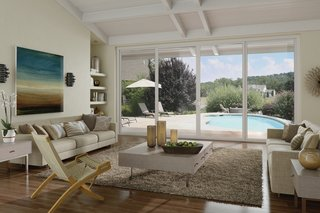 10 Outdoor Living Trends That Bring Homeowners Blissfully Close to Nature - Photo 8 of 10 - The Tuscany® Series Vinyl Patio Doors benefit from a SmartTouch® door handle, whose ergonomic design has won an International Design Excellence (IDEA) award from the Industrial Designers Society of America.