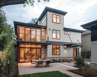 "10 Outdoor Living Trends That Bring Homeowners Blissfully Close to Nature - Photo 6 of 10 - This ""New Idea Home"" employs Milgard Essence Series® Doors with a fiberglass exterior in Cinnamon and a wood interior."